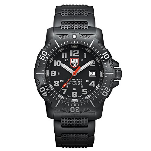 Luminox 4200 Series Anu Black Stainless Steel Mens Watch