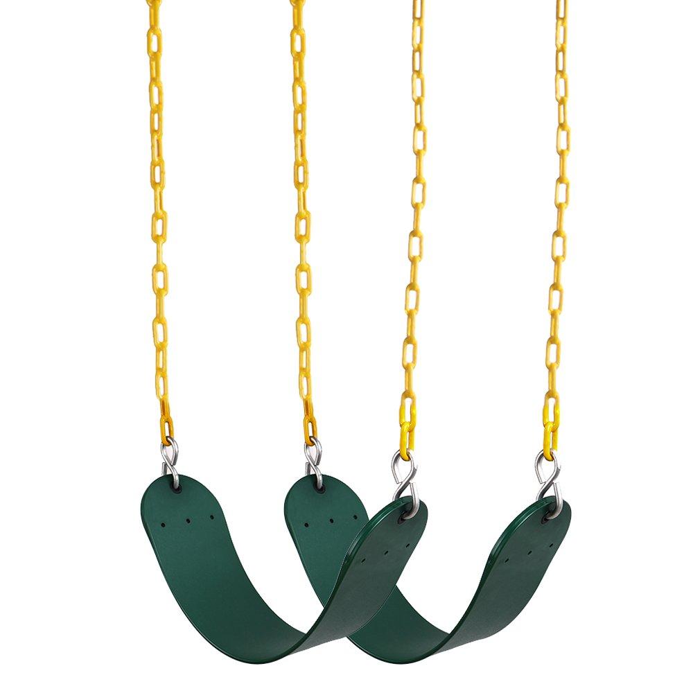 REEHUT Heavy Duty Swing Seat 2 Pack- Swing Set Accessories Swing Seat Replacement
