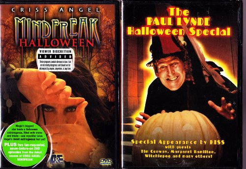 The Paul Lynde Halloween Special , Criss Angel Mindfreak Halloween : Halloween Special 2 Pack -