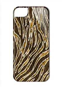 Case Fun Apple iPhone 5 / 5S Case - Vogue Version - 3D Full Wrap - Tiger Stripes