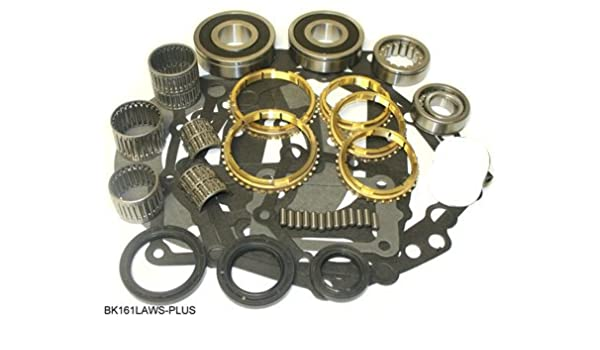 Jeep AX5 5 Speed Transmission Bearing Kit with Synchro Rings