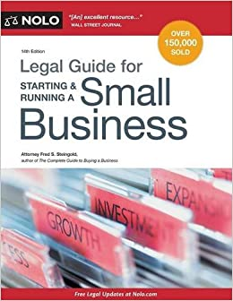 Image result for Legal Guide for Starting & Running a Small Business, 14th edition