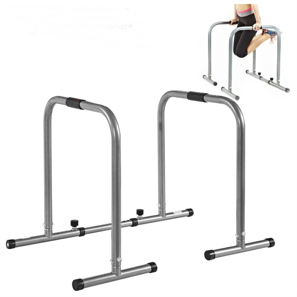 Unbranded* HEAVY DUTY DIP Station Pull Up Body Balance Exercise Parallel Bars Training Stan by Unbranded*