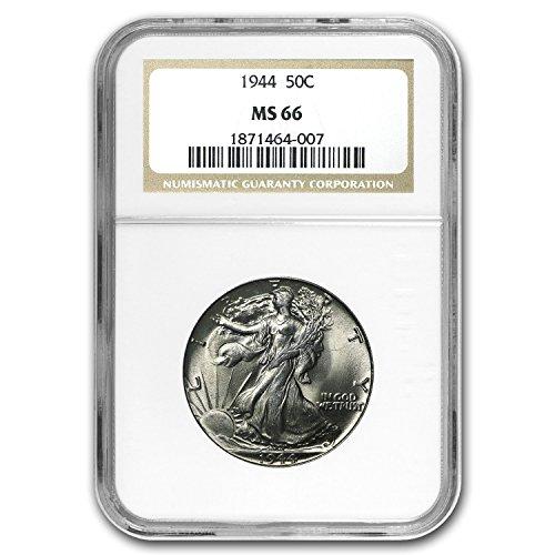 1944 Walking Liberty Half Dollar MS-66 NGC Half Dollar MS-66 NGC