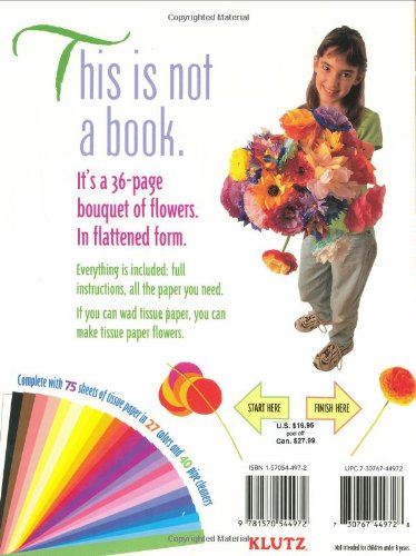 Tissue paper flowers inc klutz 0730767449728 amazon books mightylinksfo