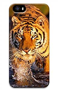 iPhone 5 5S Case Tiger Funny Lovely Best Cool Customize iPhone 5 Cover