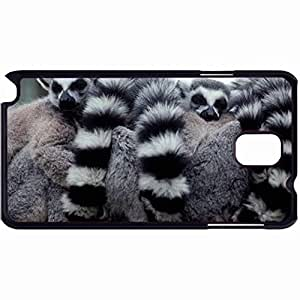 New Style Customized Back Cover Case For Samsung Galaxy Note 3 Hardshell Case, Back Cover Design Lemur Personalized Unique Case For Samsung Note 3 wangjiang maoyi by lolosakes