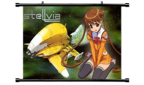 Uchuu no Stellvia Anime Fabric Wall Scroll Poster (32
