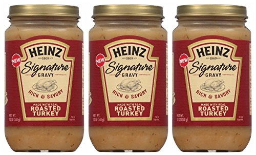 Heinz Signature Gravy Roasted Turkey - Rich and Savory - 12ounce - 3pack