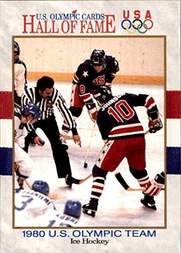 Mark Johnson Hockey Miracle on Ice 1991 Impel U.S. Olympic Hall of Fame HOF #64 MLB Baseball Card