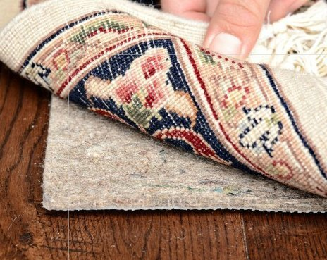 Durable, Reversible 8' X 10' SUPREME HOLD(TM) Rug Pad adds PREMIUM PROTECTION on Hard Surfaces and Carpet