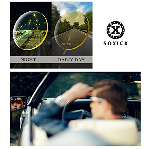 5df21175d2 Soxick Night Driving Polarized Glasses for Men Women Anti Glare Rainy Safe  HD Night Vision HOT