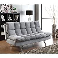 Coaster Sofa Bed-Grey