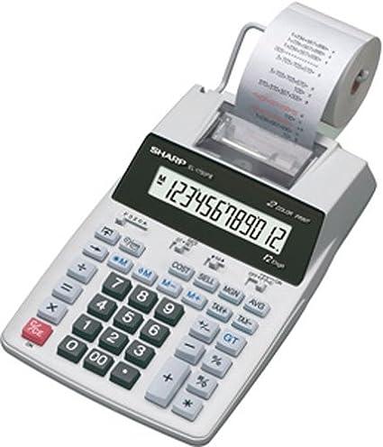 Calculators Sharp El-1750v Electronic Printing Calculator