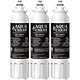 AQUACREST NSF 401, 53&42 Refrigerator Water Filter, Compatible with LG LT800P, ADQ73613401, ADQ73613402, Kenmore 9490, 46-9490 (Pack of 3)