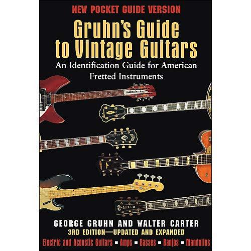 Gruhn's Guide To Vintage Guitars - Pocket Edition Pack of 2 (Gruhns Guide)