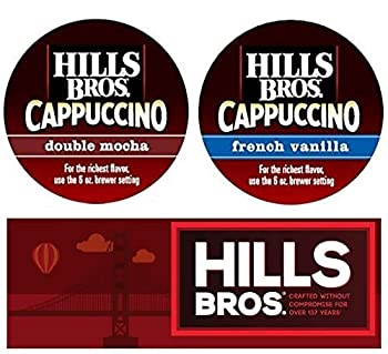 Hills Bros Caffeinated Cappuccino K-cups