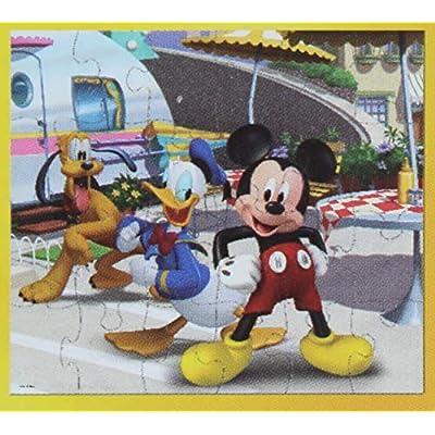 2 Pk. Disney Junior Mickey 24 Piece Puzzle (Assorted Puzzles): Toys & Games
