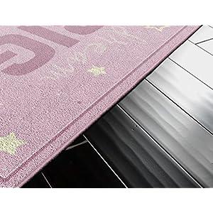 """Brumlow Mills Dream Big Pink Baby Girl Nursery Rug, 1'8″x2'10"""""""