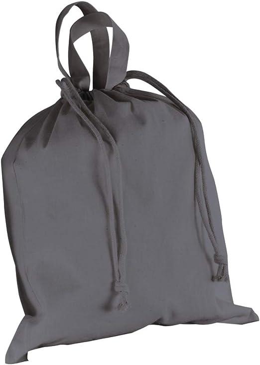 Rayher 38341562 - Bolsa de algodón (40 x 42 cm), color gris ...