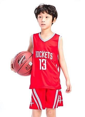 DEBND Niño Ropa de Baloncesto NBA Houston Rockets # 13 Harden ...