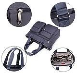 Crest Design Water Repellent Nylon Shoulder Bag