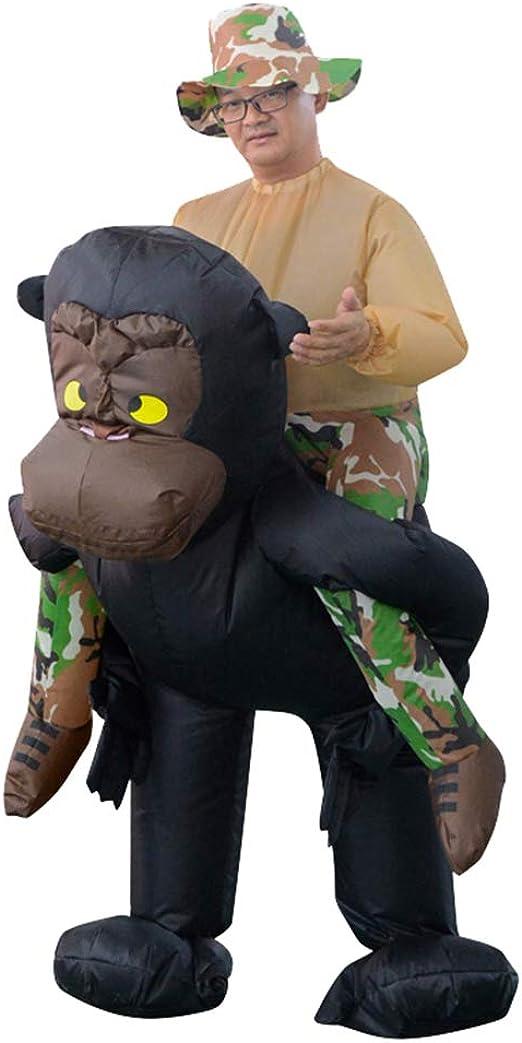 Amazon.com: HHARTS Disfraz hinchable para adulto de Ride on ...