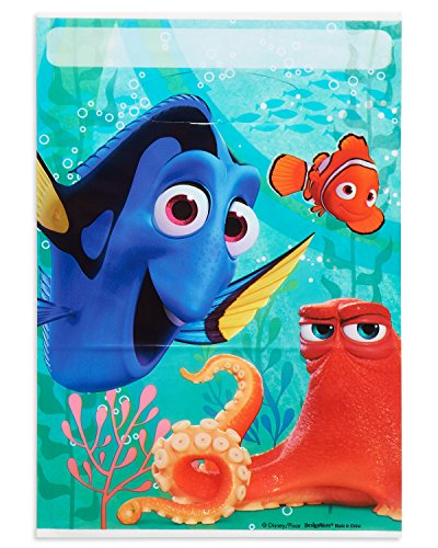 Nemo Birthday Decorations (American Greetings Finding Dory Party Treat Bags (8)