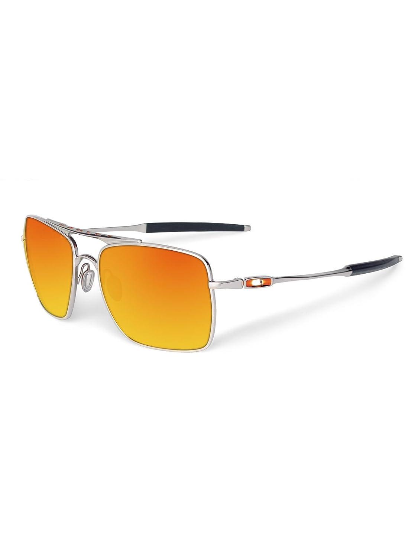 Oakley Deviation Sonnenbrillen Polished Chrome / F: Amazon.de ...