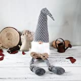 ITOMTE Handmade Swedish Tomte,Santa - Scandinavian Gnome Plush Birthday Present - Home Ornaments Holiday Decoration Table Decor