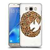 Official Cat Coquillette Pangolin Animals 2 Hard Back Case for Samsung Galaxy Grand Prime