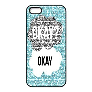 John Green,the fault in our stars series protective case cover For Apple Iphone 5 5S Cases SHIKAI550399