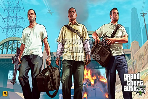 CGC Huge Poster - Grand Theft Auto V PS4 PS3 XBOX ONE 360 - GTA013 (24
