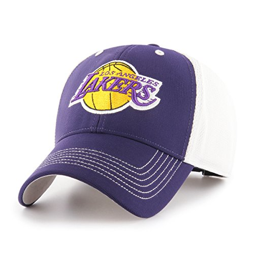 (NBA Los Angeles Lakers Sling OTS All-Star MVP Adjustable Hat, Purple, One Size, NA )