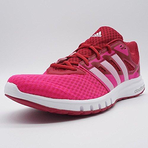 Damen Laufschuhe Adidas Cloudfoam Weißpink Übergrößen Sportschuhe wPn0kO