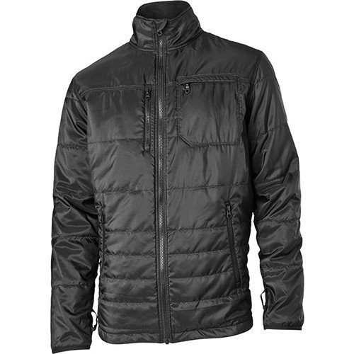 BLACKHAWK! Men's Bolster Insulated Jacket Polyester Black XL (Quilted Bolster)