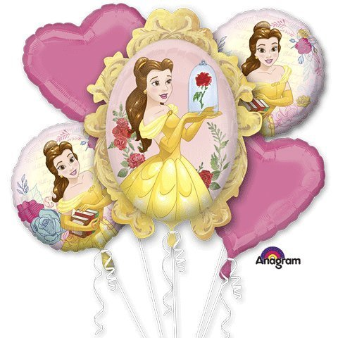 Birthday Beauty Bouquet - Anagram Beauty & The Beast Bouquet Of Balloons