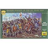 English knights. 100 Years War, XIV-XV A.D. 1/72 Zvezda 8044