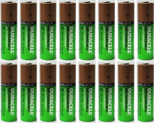 Batteries Rechargeable NiMH Precharged 2400mAh ()