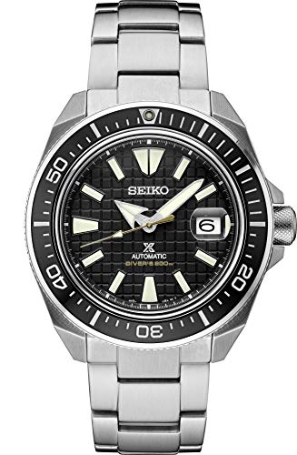 Seiko SRPE35 Prospex Men's Watch Silver-Tone 44mm Stainless Steel