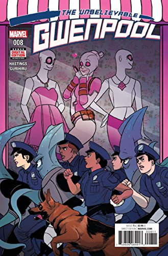 The Unbelievable Gwenpool (2016) #8 VF/NM