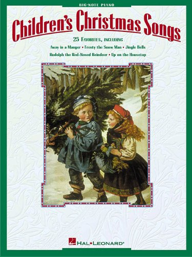 Children's Christmas Songs (Big-Note Piano)