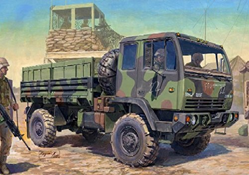 Trumpeter 1/35 M1078 LMTV (Light Medium Tactical Vehicle) US Cargo Truck Cargo Truck Vehicle