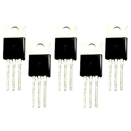 Sharplace Energía de Transistor 60 Pedazos 80n06 Funciones Estables de Alta Corriente de Amplificador