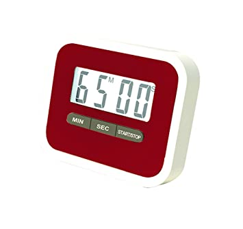 24454498884f LAAT 1pc Temporizador de Cocina Digital Temporizador de Cocina Cuenta atrás- Reloj Up Reloj Temporizador de Alarma Grande Pantalla Grande  Amazon.es   Hogar