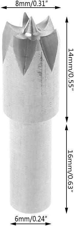 Senoow Foret /à coudre pour mini machine /à tour 6 mm