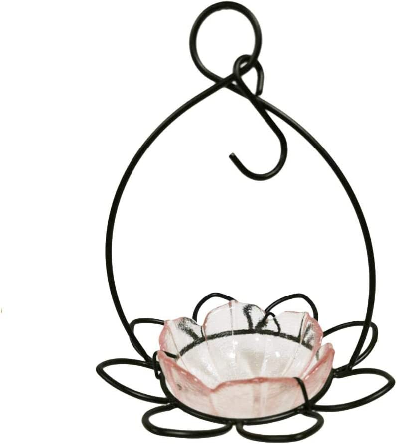 Colgando Alimentador De Pájaros, Bandeja De Semillas Para Comederos De Aves / Baño Del Pájaro, Jardín Al Aire Libre Del Patio Trasero Gran Decorativo Para Atraer Alimentador Del Colibrí Mascotas
