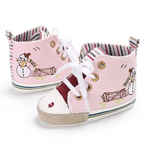 Huhu833 Kinder Mode Baby Schuhe Weiche Sohle Schuhe Frühling Herbst Babyschuhe Kleinkind Schuhe Rosa