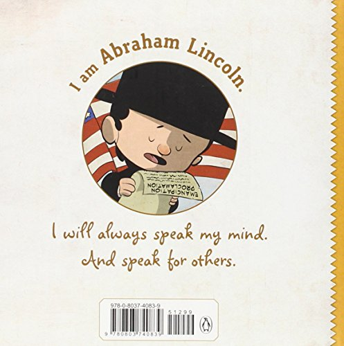 I am Abraham Lincoln (Ordinary People Change the World) by Dial Books (Image #1)