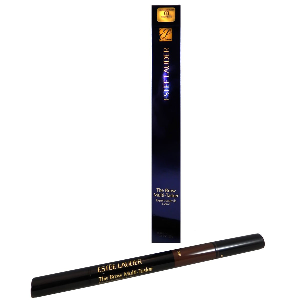 Estee Lauder The Brow Multitasker 3-In-1 Set, No. 03 Brunette, 0.017 Ounce by Estee Lauder